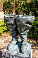 The boots of Jean t'Serclaes