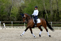 Larissa Pauluis with Lully - training