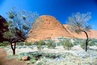 Kata Tjuta Mounts Olga